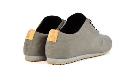 low-cut sneaker vegane Halbschuhe grau sorbas '63