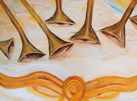 Die sieben Trompeten