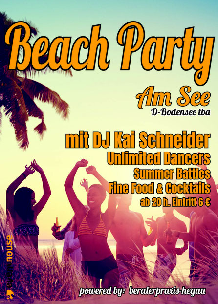 Beach Party am Bodensee