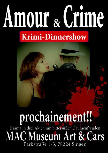 amour and crime krimidinner in Singen MAC MUSEUM
