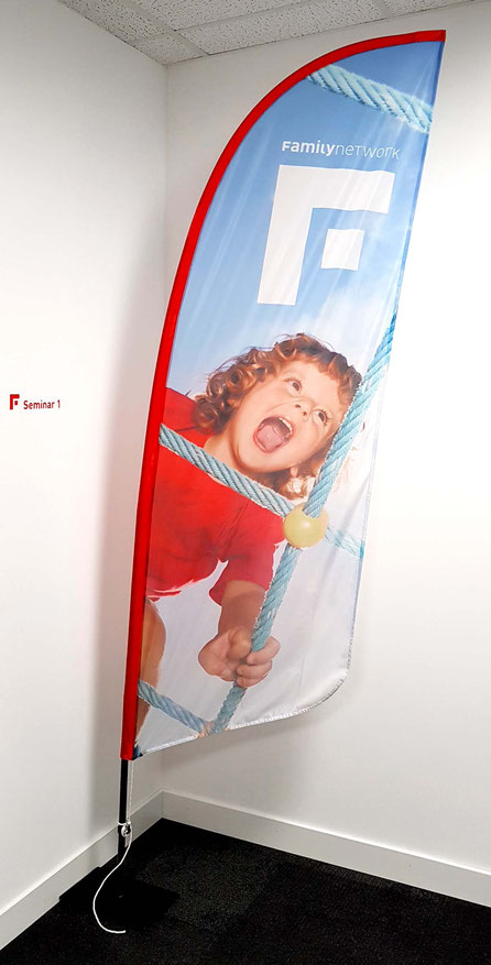 Beachflag Familynetwork – Grafik (Corporate Design) by Lockedesign Burgdorf/Bern