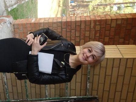 Leider nicht mehr in Nadeshda: Unsere große Hilfe Olga die ehemalige  Chefdolmetscherin