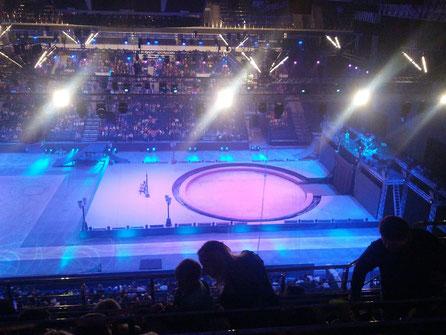 Kulturprogramm in der Minsk-Arena, einfach toll