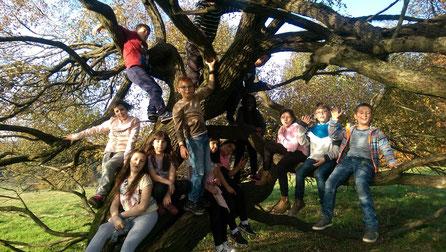 Kinder des Diesterweg-Stipendium in Offenbach