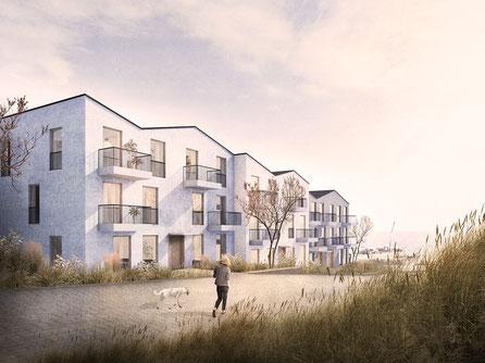 Invasorenpfad Helgoland Alterswohnen Seniorenwohnen Herr & Schnell Architekten Gemeinde Helgoland Plambeck ContraCon, HC HAGEMANN GmbH & Co. KG