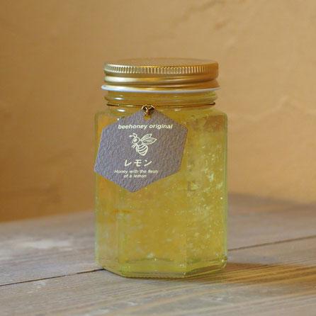 【精製蜂蜜】レモン果肉入りはちみつ,はちみつギフト,ビーハニーギフトセット