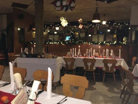 """vorweihnachtliches """"candle light dinner"""""""