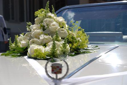 Oldtimer für Hochzeitsfahrt
