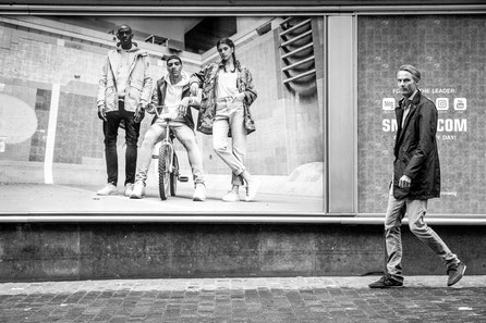 Streetphotography black and white Markus Ritzmann Photography