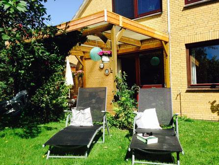 Ein Sonnenbad im Garten?