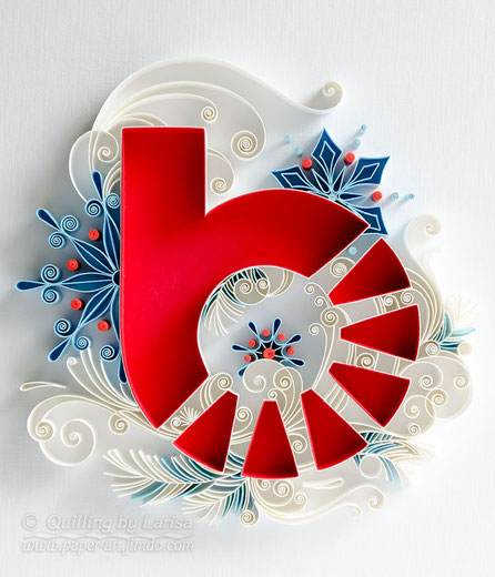 quilling , quilling paper, holiday card, quilling card, new year card, new year, quilling gift, paper art, art, paper, etsy, larisa zasadna, design, love heart, hearts, quilling art, quilling paper art