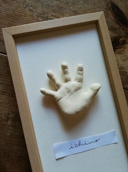 陶芸家 ブログ 焼き物 陶芸作品 茨城県笠間市 足形 手形 赤ちゃん 立体足形 立体手形 記念手形・足形