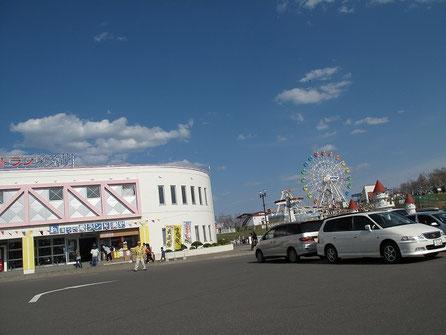 道の駅「愛ランド湧別」は遊園地のある道の駅だ。結構立派な遊園地
