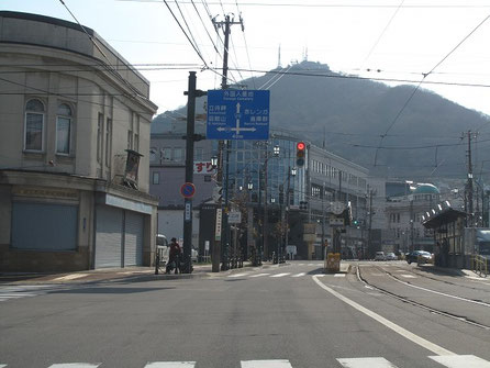 15:31 目の前に函館山、待ってろ、今登ってやるぜ!