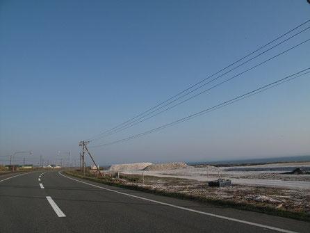 5:42  ホタテの貝殻の山