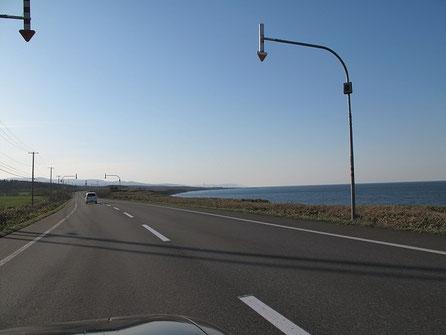 オホーツク海も綺麗だ~