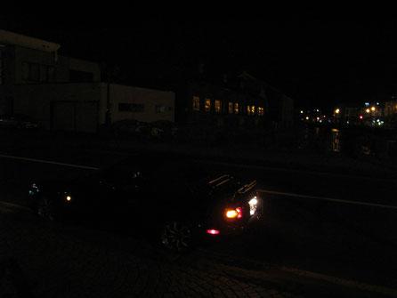2:52 小樽運河。真夜中は寂しい。
