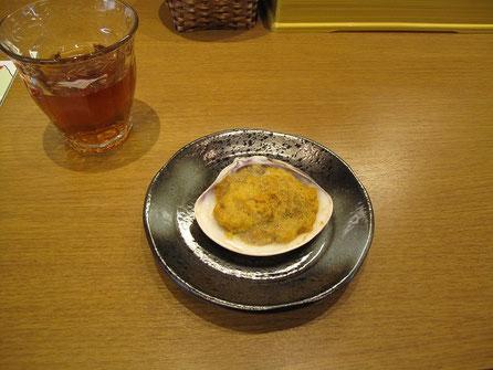 ウニ焼き(500円) これは旨い!もっと食べたい!