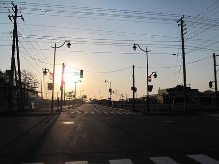 5:00 出発。今日は北海道一周最後の日。