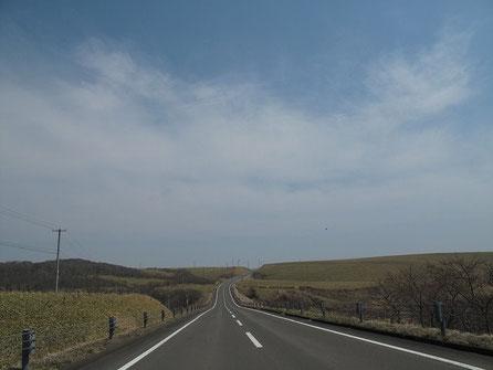 北太平洋シーサイドライン。何にも無くて美しい道路