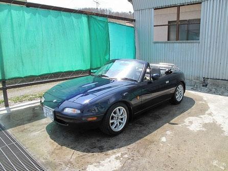 車が汚れていたのでこの旅2度目の洗車。あースッキリした・・