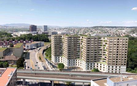 Das neu errichtete Gebäude in Zürich-Wallisellen ist eine unverwechselbare Architektur. In den Etagen 1 - 3 befindet sich Harry's Home mit 123 Hotelzimmern & Apartments. Im Jahr 2006 wurde in Graz das 1. Harry's Home eröffnet.