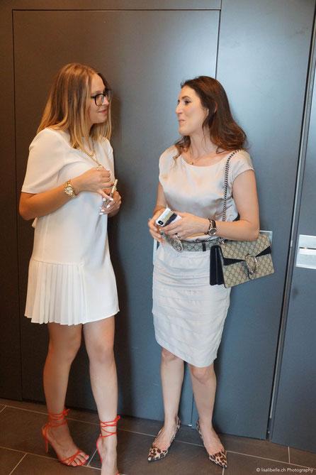 (links) Sara Erb, die sympathische junge Marketingmanagerin der Harry's Home Hotels