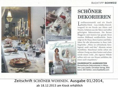 SCHÖNER WOHNEN / Buchtipp Schweiz