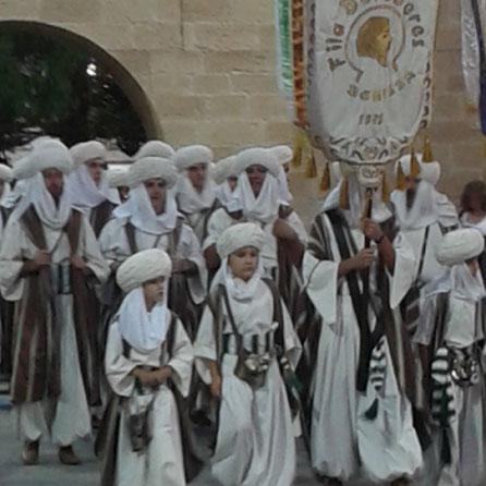 Jaarlijkse festiviteiten ter herdenking van de gevechten tussen de Moren en christenen