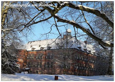 283 Reinbek Wintergrüße Schloß