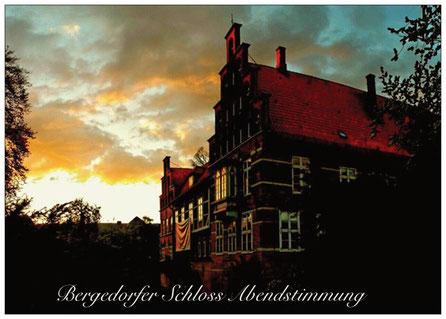 243 Beergedorf Schloss Abendstimmung