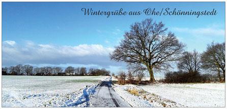 A16 Ohe/Schönningstedt Winteridylle