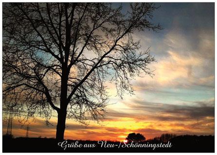 285 Schönningstedt Sonnenuntergang
