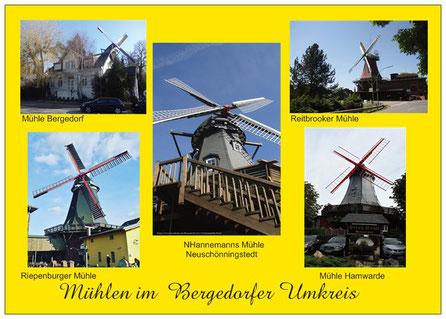 238  Mühlen im Bergedorfer Umkreis