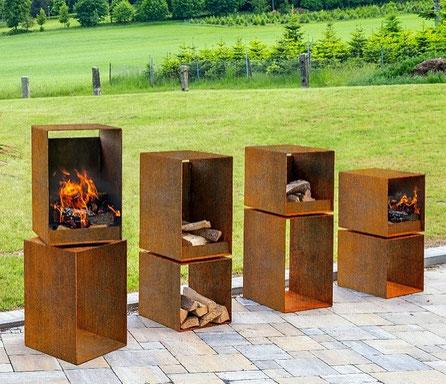 Feuerstellen & Regale