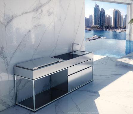 Outdoor-Küchen Gas & Kohle - Luxury-Line