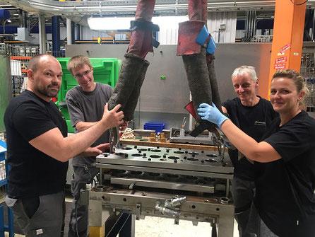 Produktion Teamarbeit