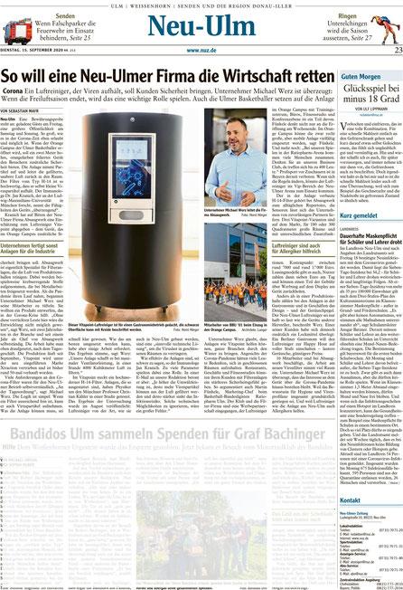 S2_Artikel_VITAPOINT®_Neu-Ulmer_Zeitung