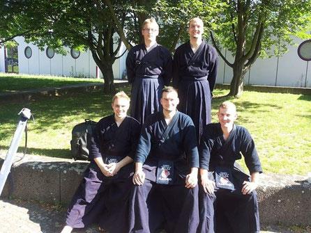 Kyu-Prüfungen auf dem Tengu Cup 2014
