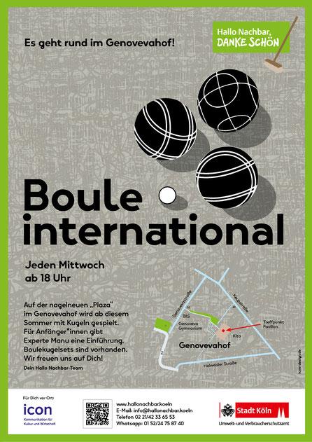 Poster »Boule international«