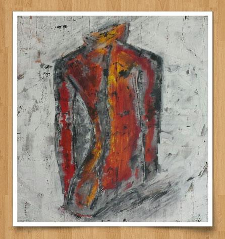 Körperkunst  80 x 80cm  Acryl auf Leinwand  - Preis auf Anfrage -