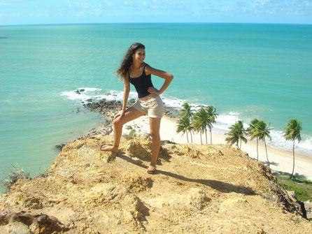 Ariane em passeio no Mirante Dedo de DEUS!!!!!
