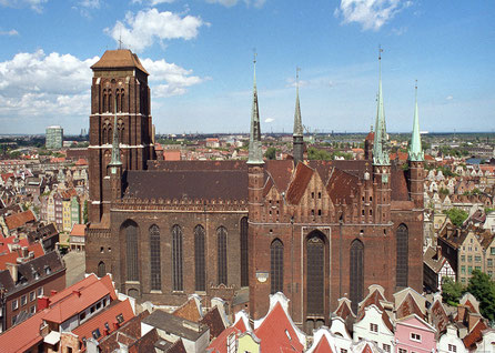 Gdansk top things to do - St Mary's Church - Copyright  BernieCB