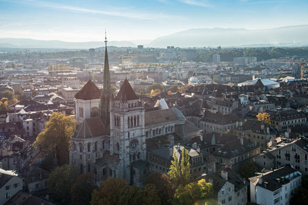 Geneva top things to do St Peter Cathedral Copyright Valerij Tkachenko