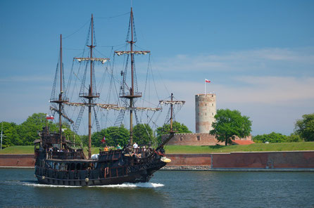 Gdansk top things to do - Vistula Mouth Fortress - Copyright Patrick Jakubowski