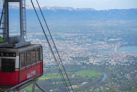 Geneva top things to do - Cable car in Geneva - Copyright Gasztroworld