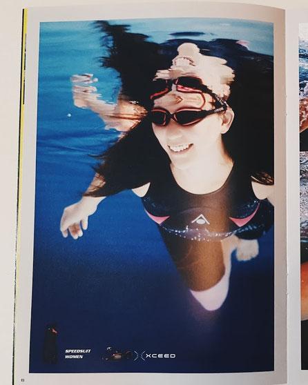 競泳 撮影 競泳水着 スポーツモデル フィットネスモデル 水中が得意