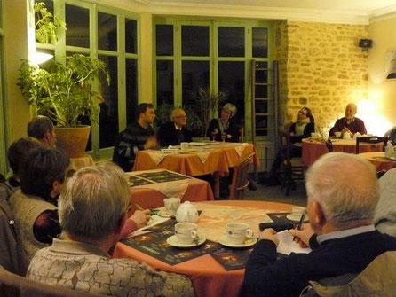 Au centre, Julien Pointillart, P. Claude Boitard, Servanne Desmoulins-Hémery