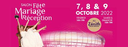 Salon Fête Mariage Réception à Limoges - 7, 8 et 9 Octobre 2022