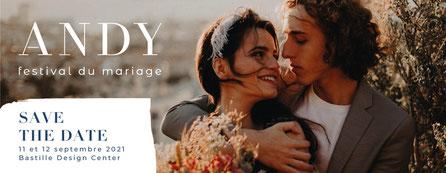 Festival Mariage You and Me de Paris 05 et 06 Février 2022